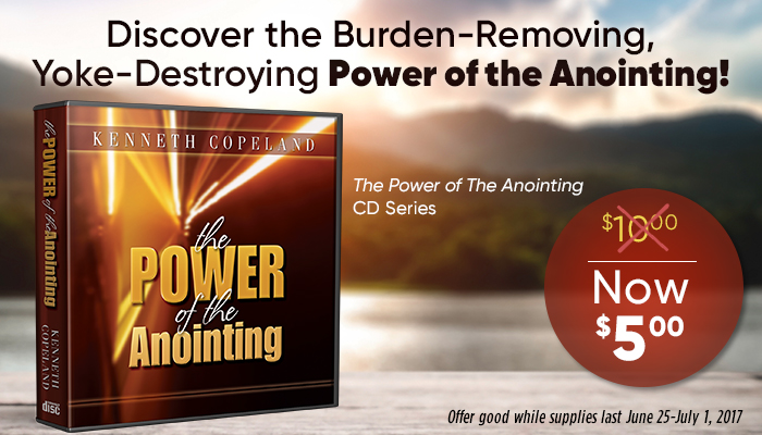3 Ways To Activate The Anointing Kenneth Copeland Ministries Blog