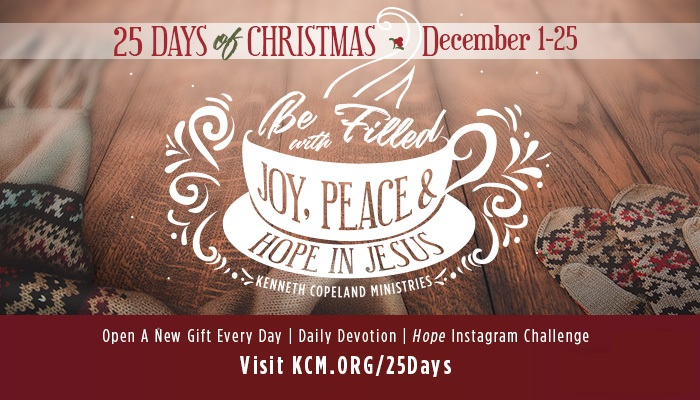 10 Ways To Be Filled With The Hope Of Christmas Kenneth Copeland