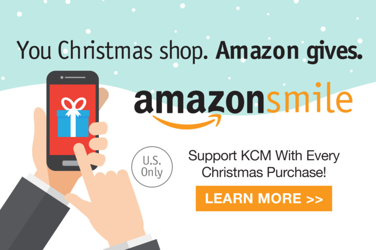 Support KCM With Every Christmas Purchase on AmazonSmile