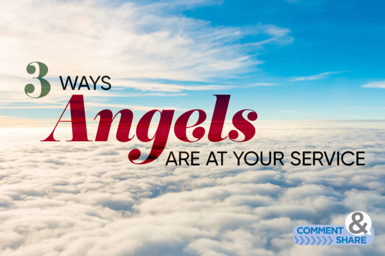 3 Ways Angels Are at Your Service