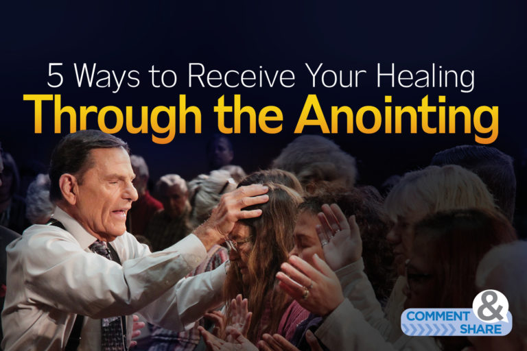 5 Ways to Receive Your Healing Through the Anointing