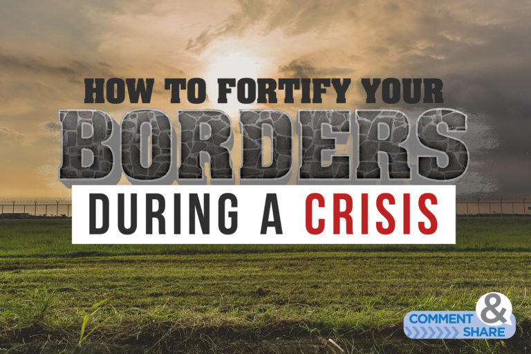 How to Fortify Your Borders During a Crisis