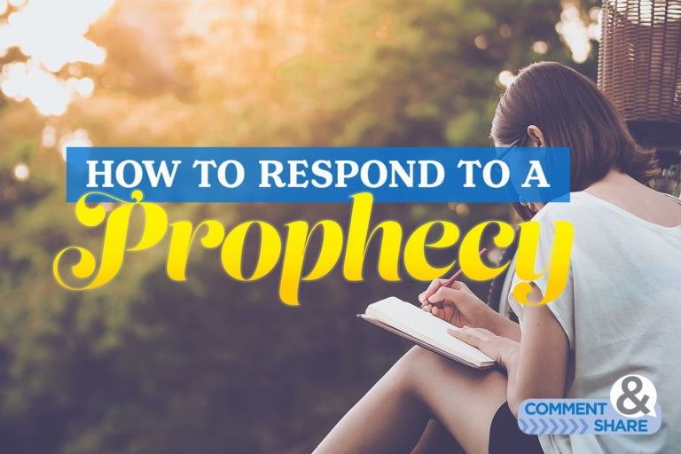 How to Respond to a Prophecy