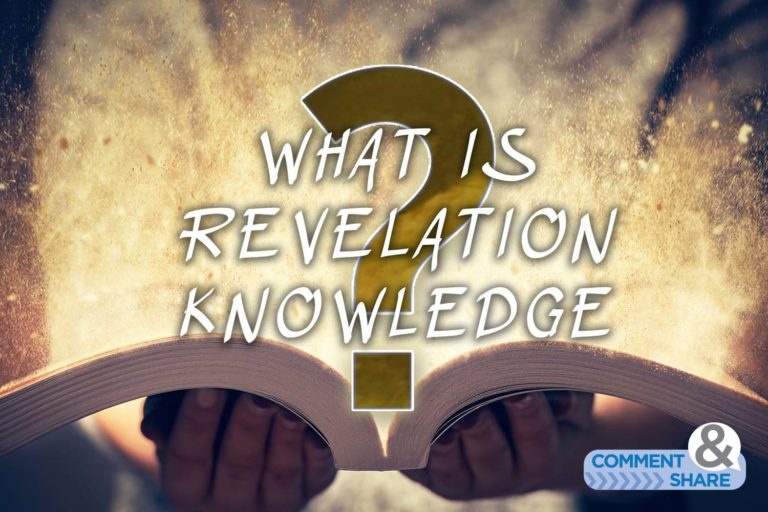 What Is Revelation Knowledge?