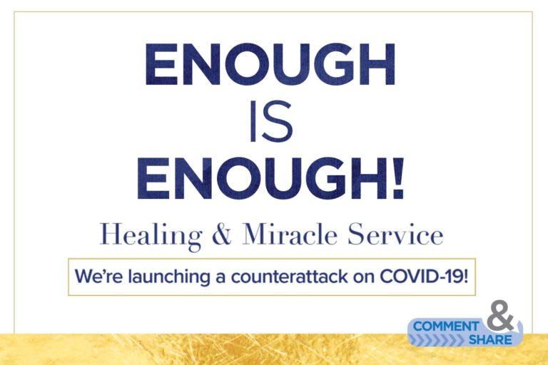 Enough Is Enough—Healing & Miracle Service